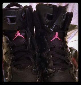 Air Jordan's retro 6 gs sz 5.5